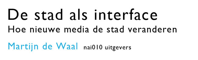 De stad als interface